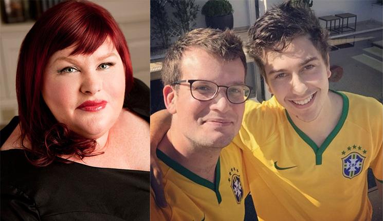 Cassandra Clare (Divulgação) / John Green e Nat Wolff no Brasil (Reprodução / Instagram)