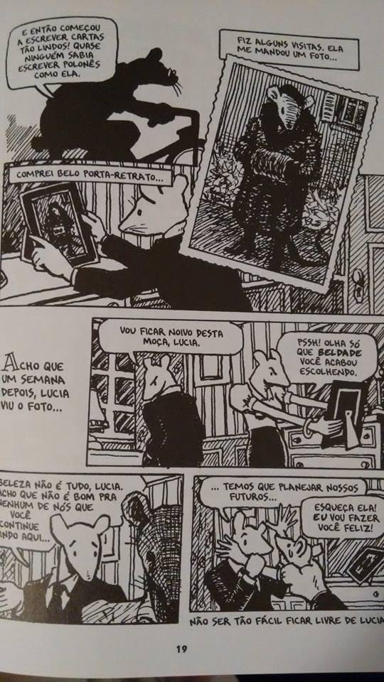 Ilustrações de 'Maus - A História de um Sobrevivente', de Art Spiegelman/ Foto: Mabi