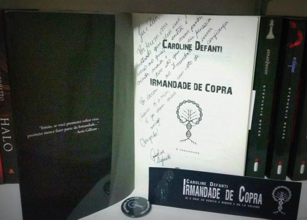 Autografo Irmandade de Copra