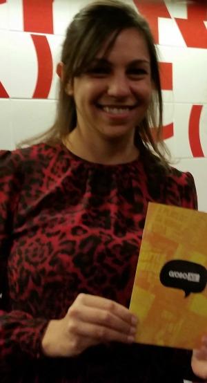 Eugênia-Ribas Vieira, editora da Globo Alt/ Foto: Vai Lendo