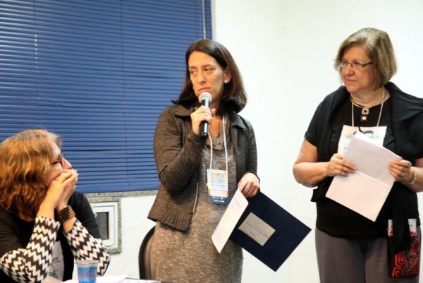 Sol Mendonça, vencedora do Concurso FNLIJ Leia Comigo!, na categoria relato real/Foto: FNLIJ/Divulgação