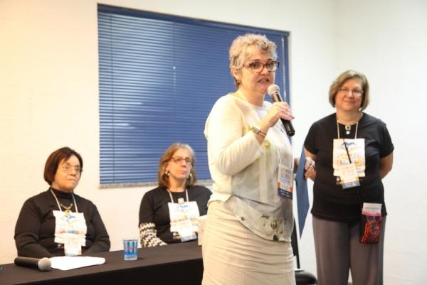 Antonella Catinari, vencedora do Prêmio Leia Eu! na categoria relato ficcional/Foto: FNLIJ/Divulgação