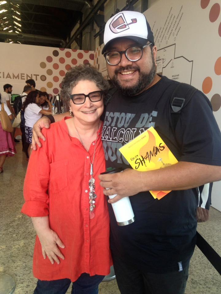 Cora Ronai e Anderson França/Foto: divulgação LER