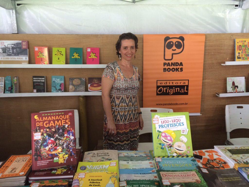 Patricia Metzler destacou a importância da Primavera na formação de novos leitores/Foto: Vai Lendo